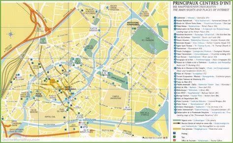 map sightseeing strasbourg sightseeing map