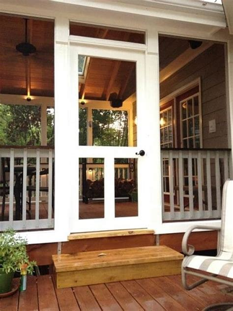 creative ideas  remodel  screened porch