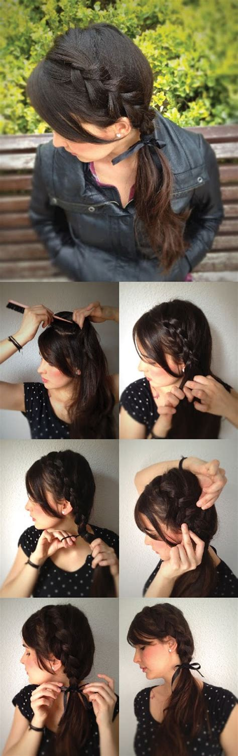 side hairstyles how to do it how to make beautiful side braid hairstyles tutorial