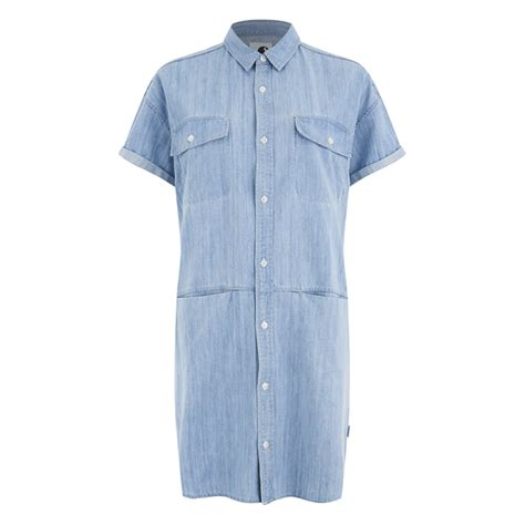 Set Corry Denim by Carhartt S Corry Sleeved Denim Shirt Dress