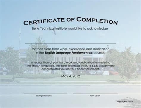 printable certificate of completion awards certificates templates