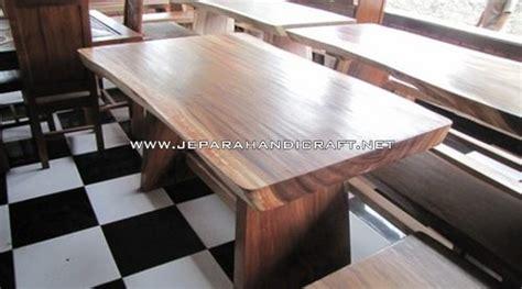 Meja Makan Stainless Steel paling laris meja makan minimalis trembesi stainless murah
