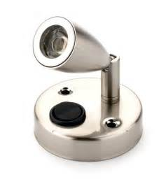 Lighting A Caravan Caravan Led Interior Spotlight Lumo Eco Brushed Nickel W