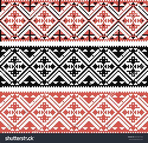 ethnic pattern svg vector ethnic pattern 437331742 shutterstock