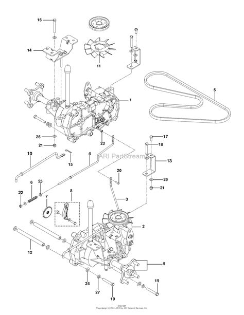 husqvarna zero turn parts diagram husqvarna rz 5424 966659302 2013 10 parts diagram for
