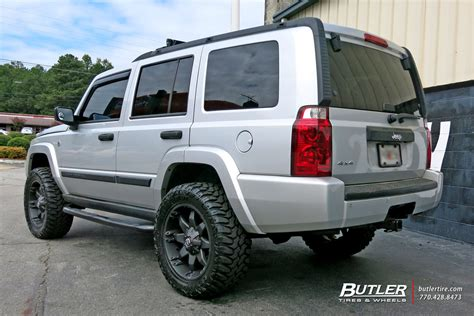 Jeep Commander Size Jeep Commander With 20in Fuel Octane Wheels Exclusively