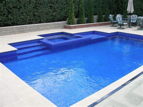 square swimming pool rectangle backyard pools images pools pinterest pool