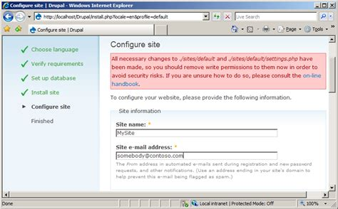drupal theme query string install drupal on iis the official microsoft iis site