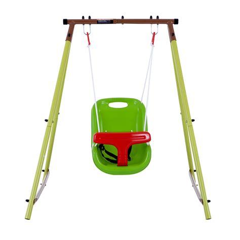 imagenes de niños jugando en un columpio columpio beb 233 individual kidscool