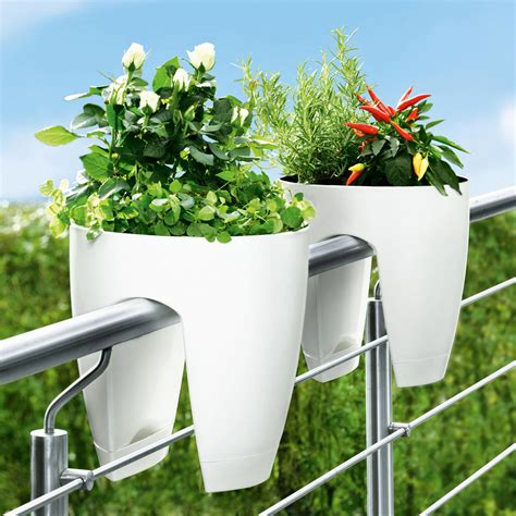 buy planters buy flower rail planter 3 year product guarantee