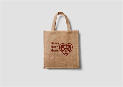 eco bag heart hope home eco bag wolf creek dog rescue