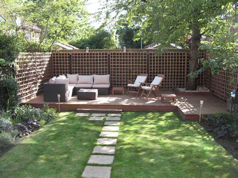 Modern Landscaping Ideas For Small Backyards Modern Garden Design Ideas 7