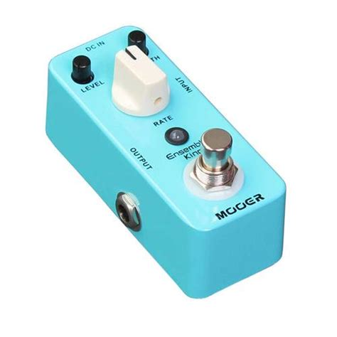 Mooer Ensemble King Efek Chorus mooer ensemble king analog chorus pedal mill hill complex