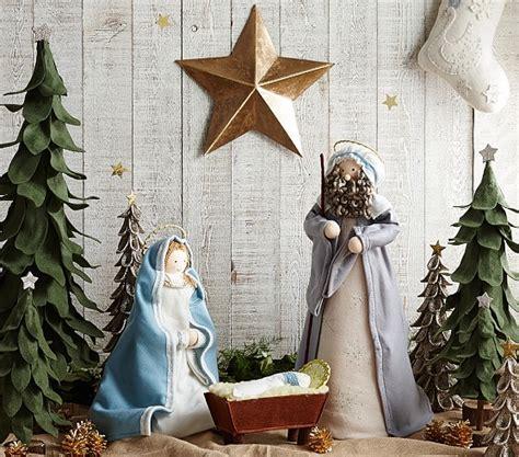 pottery barn nativity set jumbo nativity pottery barn