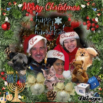 merry christmas happy hanukkah love maddi picture  blingeecom