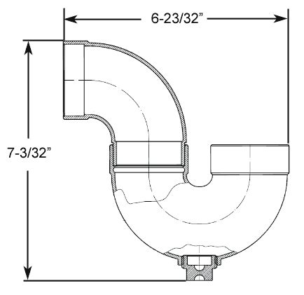 what size p trap for bathroom sink bathtub p trap size 28 images bathroom sink drain pipe