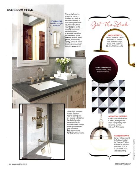 Maine Home And Design March 2015 M Davie Design Inc House Home March 2015