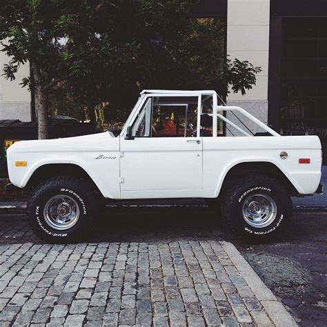 white bronco car dream car white old bronco s u r f 183 l i f e
