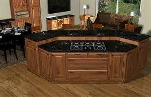 Kitchen Island Designs With Cooktop by Kitchen Island With Cooktop Island Cooktop Articad