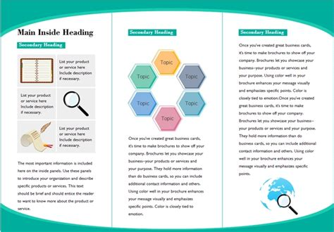 templates for presentation handouts handout template igrostroy info igrostroy info
