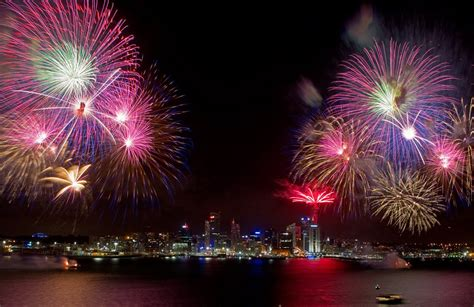 when does new year start in australia new year 2011 sees in the new year with display on