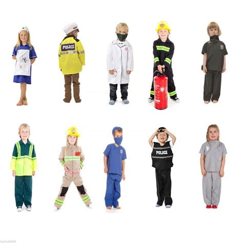 dress up for children s boys emergency services work fancy