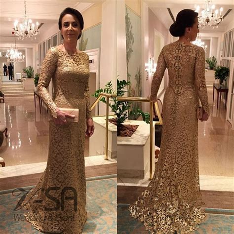 by color cheap prom dresses 2016 mother of bride gown vestido de madrinha gold lace mother of the bride dresses