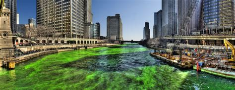 chicago river st s day history file green chicago river on patricks day 2009 jpg wikimedia commons