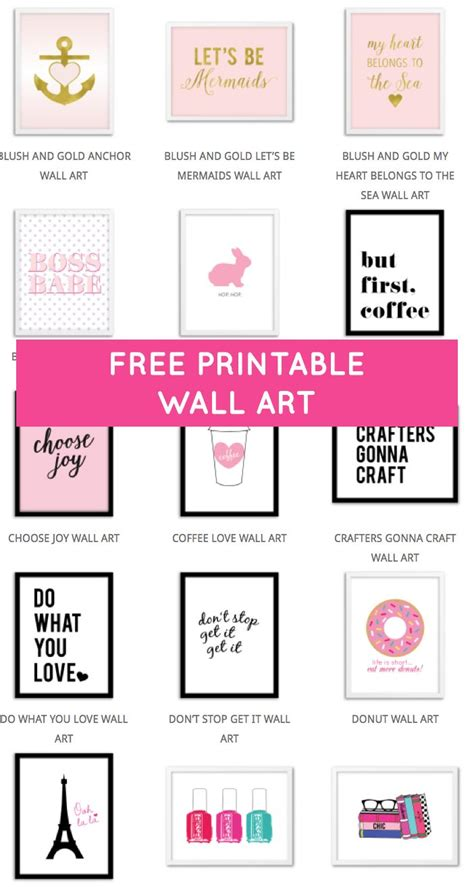 free printable wall art decor gameshacksfree 25 unique printable wall art ideas on pinterest free