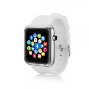 bluetooth smart s68 bluetooth smart watch for android ios phone white