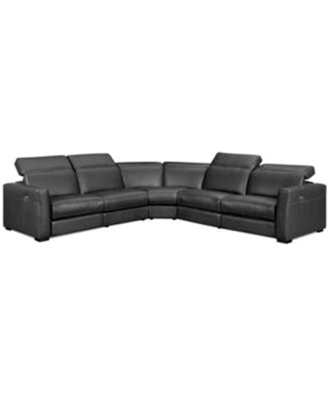2 Reclining Sectional by Novara Leather 6 Power Reclining Sectional Sofa Power Recliner Chair Power Recliner