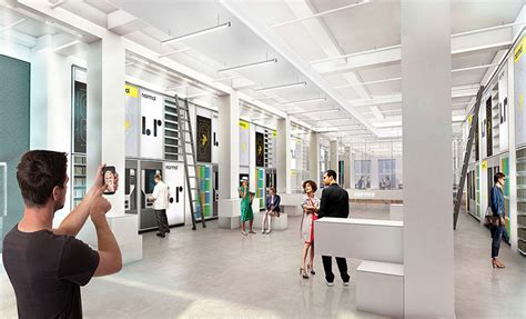 retail experience design hwkn designs normal factory for 3d printed headphone