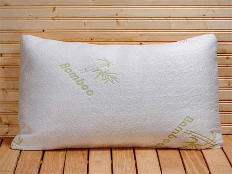 hotel comfort pillows com bamboo pillow with adaptive memory foam for 5
