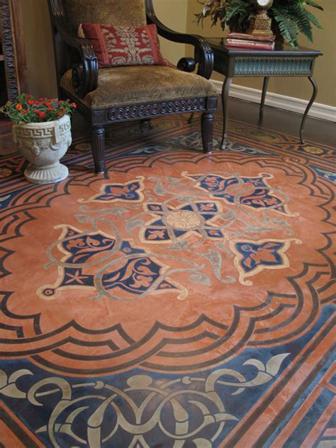 Decorative Floor Painting Ideas Modello Designs 6