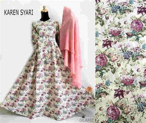 Gamis Katun Jepang gamis katun jepang b058 terbaru baju muslim remaja