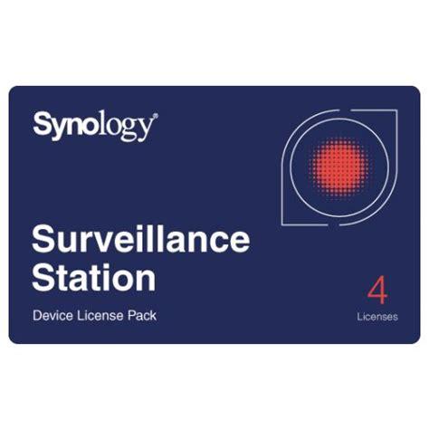 synology license synology device license pack x 4 mobile harddisk nl
