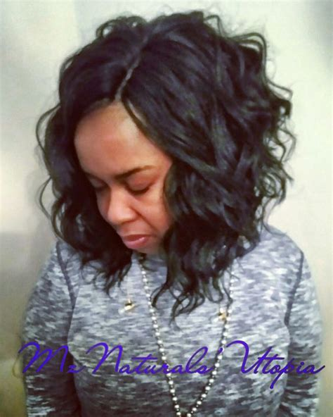 Asymmetrical Crochet Hairstyle For Black by A Crochet Bob Using Kima Wave New Crochet Looks