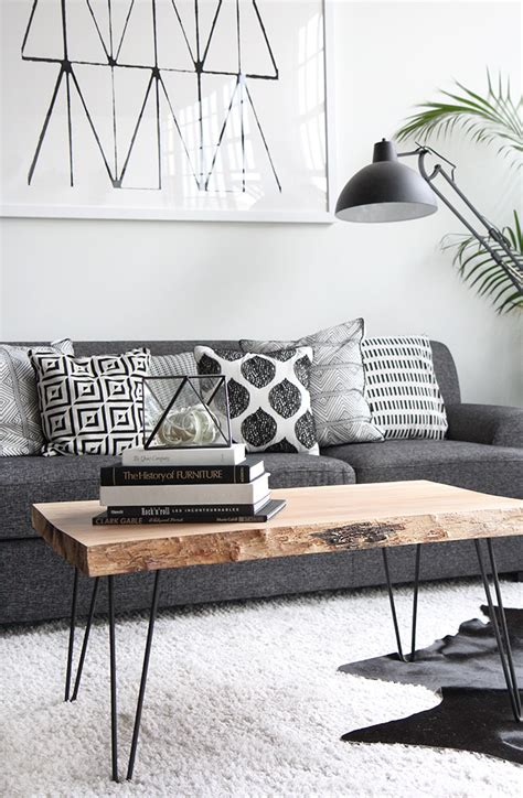 Black White Gray Living Room by 48 Black And White Living Room Ideas Decoholic