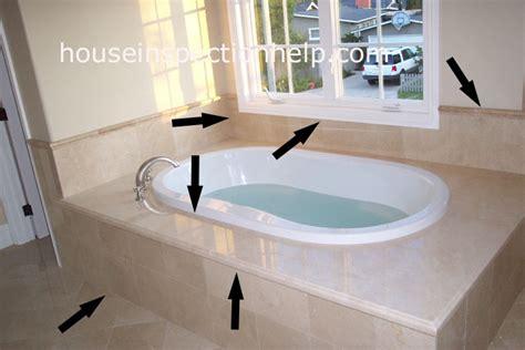 Bathtub Tile Inspection