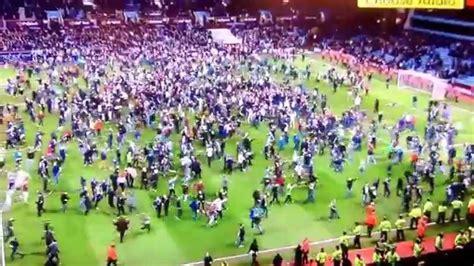 crowd goes crazy at aston villa vs west brom quarter final