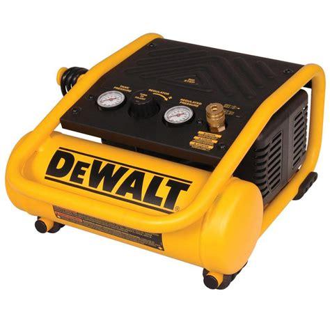 dewalt 1 gal portable electric trim air compressor d55140