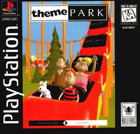 theme park rom theme park u slus 01069 rom iso download for