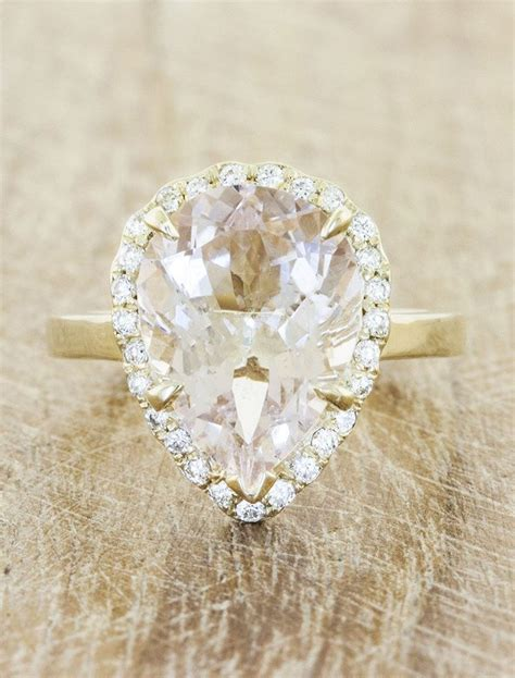 27 best images about gemstone engagement rings on