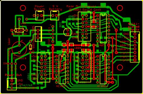 what is layout design of integrated circuit maze solving robot all right page 3 of 5 robot room