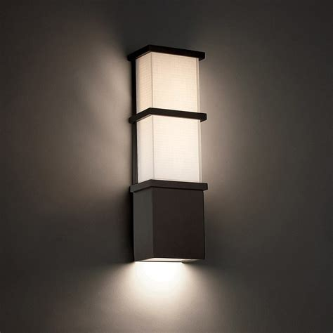 Contemporary Outdoor Wall Lighting Elevation Led Outdoor Wall Sconce By Modern Forms