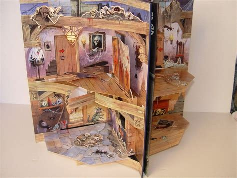 libro pop up haunted house the horrors in the haunted house pop up storybook keith moseley pop up houses pop up book