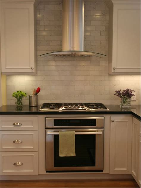 range hood ideas kitchen tile behind range hood houzz