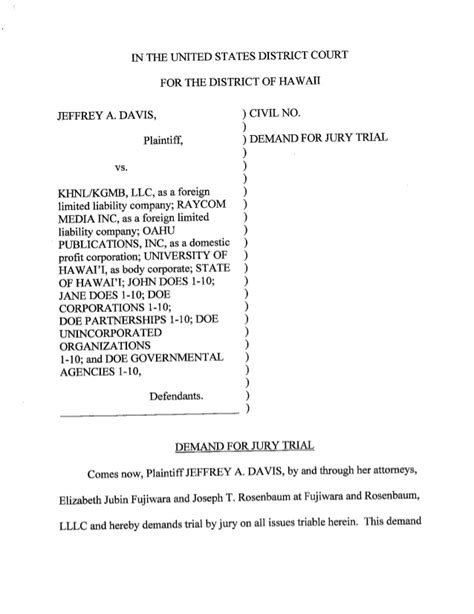 section 1983 complaint complaint demand for jury trial summons10232014 0000