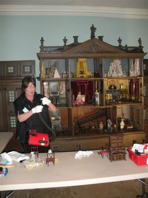 Brits Conservators Clean House by Dolls House Nostell Priory Conservation Jt Just