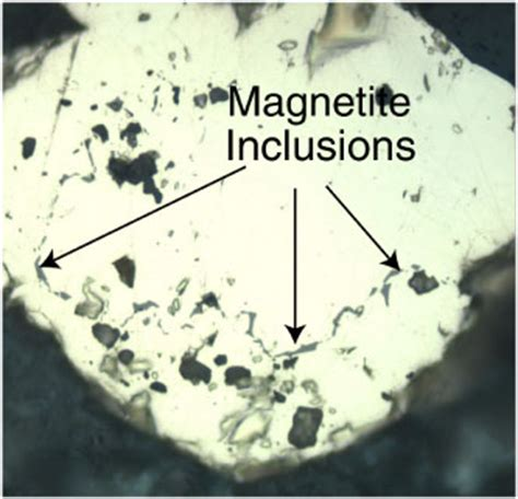 pyrite thin section figure f74 subhedral pyrite yellow containing